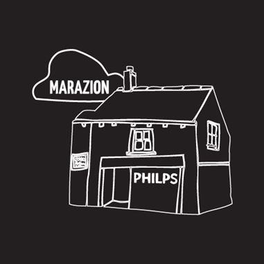 drawing of Philps Pasties Shop Marazion